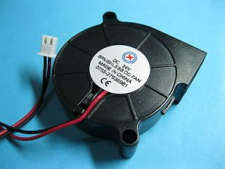 pcs Brushless DC Blower Fan 24V 5015S 50x50x15mm 2pin Sleeve bearing