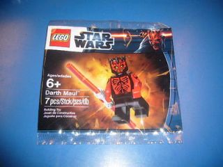 Lego Star Wars Shirtless Darth Maul Promotional Poly Bag 6005188 Toy