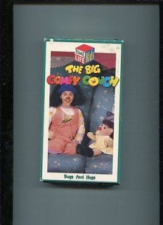 The Big Comfy Couch Bugs And Hugs TIME LIFE KIDS VHS OOP RARE AI4