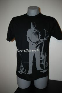 David Gilmour Mens Black Pink Floyd Graphic Concert Tee T Shirt Shirt