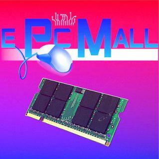 DDR2 PC2 5300 PC5300 667MHz SODIMM LAPTOP NOTEBOOK MEMORY RAM 1 GB 667