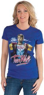 NEW Delias Delias Michael J Fox Teen Wolf Vintage 80s Graphic S/S Tee