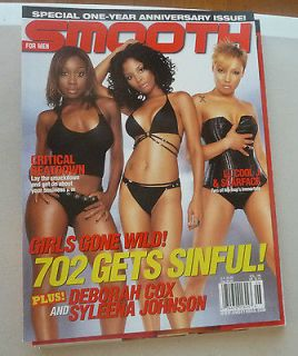 THE MAGAZINE SMOOTH DEBORAH COX SYLEENA JOHNSON GIRLS GONE WILD NO.6