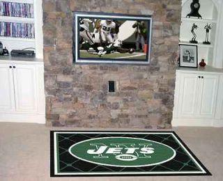 York Jets NFL 4 x 6 Decorative Plush Area Rug Floor Mat by Fan Mats