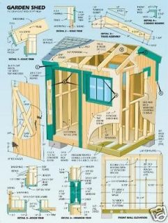 DIY Shed, Log Cabin, Summer house, Play House, Barn Garage & Woodwork