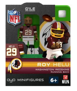 Roy Helu Oyo Mini Fig Figure Lego Compatible Washington Redskins NFL