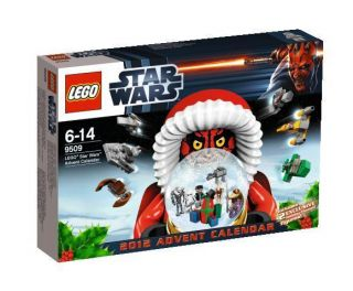 Lego 9509 Star Wars Advent Calendar 2012 Darth Maul New Sealed NIB