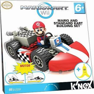 NINTENDO Mario and Standard Kart Building Set Wii Toy #38003
