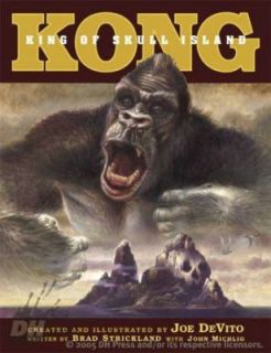 Kong King of Skull Island by Brad Strickland illustrated novel