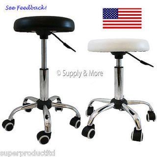Hydraulic Swivel Stool Salon Spa Tattoo Medical Dental Chair Beauty