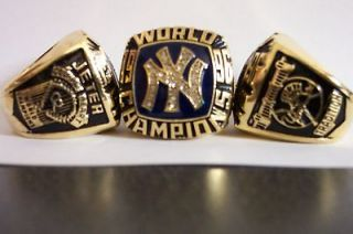 New York Yankees 1996 World Series Replica Ring Jeter Engraved