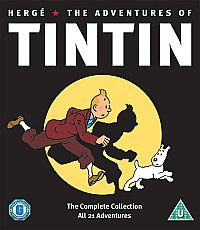 THE ADVENTURES OF TIN TIN  Complete Collection  DVD BOX SET Lenticular