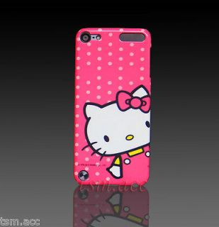 Dot Hello Kitty Hard Back Cover Case for iPod Touch iTouch 5 5G 5th
