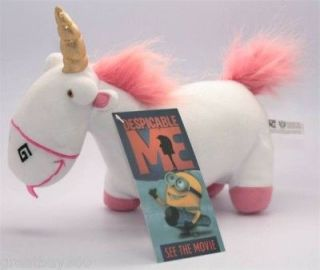 DESPICABLE ME UNICORN Fluffy SELL WELL PLUSH Doll Toy