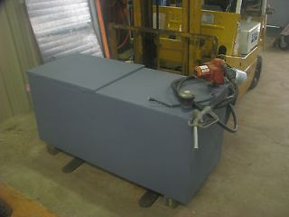 Fuel transfer tank and electric pump