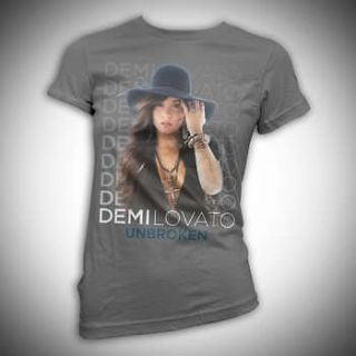 Demi Lovato Stacked Girlie Shirt SM, MD, LG, XL New
