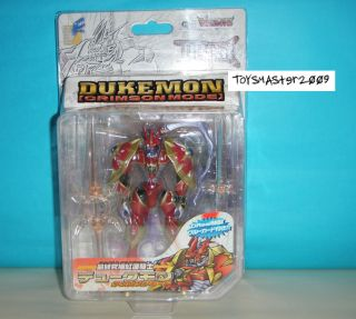 Digimon Tamers D Real Dukemon [Crimson Mode] Japan Action Figure with