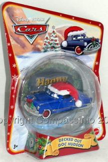 Disney Cars Mater Saves Christmas Decked Out Doc Hudson Holiday Car