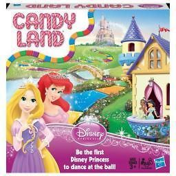 Hasbro 98823 Candy Land Disney Princess Edition Game
