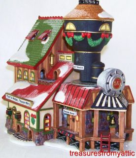 Dept 56 North Pole TOOTS MODEL TRAIN MFG 56728 MIB LtdEd Animated