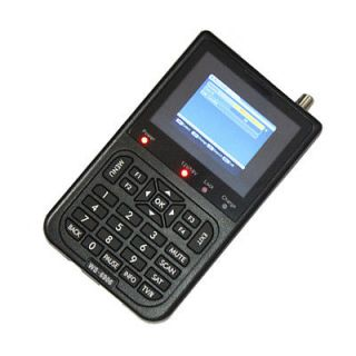 LCD DVB S FTA Digital Satellite Meter Sat Finder Terrestrial Signal