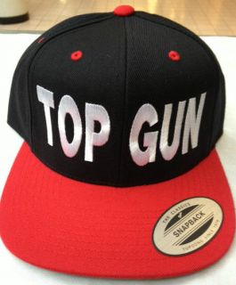 TOP GUN SNAPBACK HAT