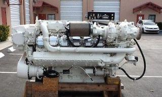 MAN V12 1224 HP MARINE DIESEL ENGINE