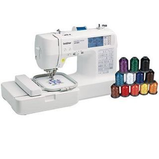 Brother Computerized Sewing Embroidery Machine Crafts USB 6800 NEW