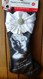 musical Christmas stocking  Diamonds are a girls best friend
