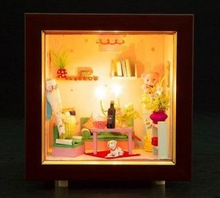 wooden doll house kits