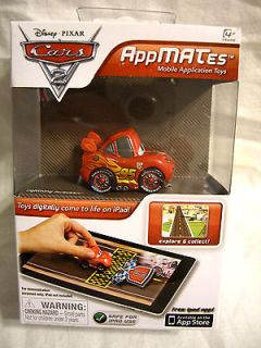 Apple iPad App AppMates Disney Cars Mobile Application TOY CAR & mini