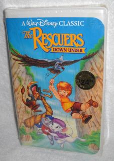 4161 NRFB Walt Disneys Classic The Rescuers Down Under (1991, VHS)