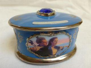 Titanic Heart Of The Ocean Porcelain Music Box My Heart Will Go On