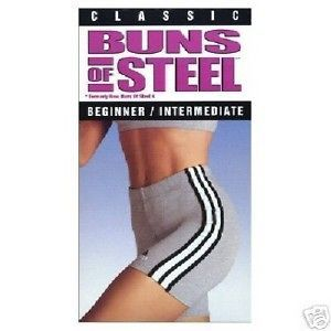 Classic Bun of Steel Beginner Intermed VHS Workout