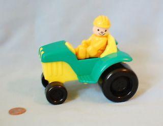 Vintage TRG & G Toys R Us FARM TRACTOR & Driver Lot 1997 Geoffrey