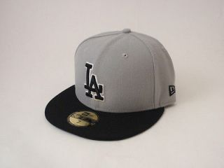 Los Angeles LA Dodgers Fitted Hat New Era 59FIFTY Baseball Cap MLB
