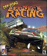 Redneck Racing PC CD race dirt track canyon buggies jeeps trucks game