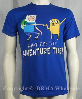 Authentic ADVENTURE TIME Finn & Jake Standing Up T Shirt S M L XL