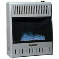 WALL HEATER MANUAL BLUEFLAME GAS OR PROPANE HEAT VENT FREE DUAL FUEL