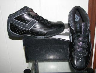 Pony Mens High Flyer Black Shoes Basketball SIZES NIB