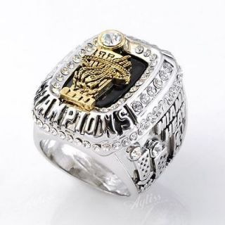 1Pc 2012 Miami Heats LeBron James Championship Replica Ring Souvenir
