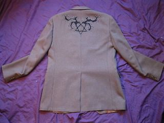 HIM HEARTAGRAM JACKET blazer Sm M bam margera ville valo shirt goth