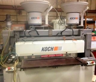 Koch Sprint PTP Boring & Dowel Insertion Machine