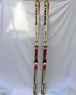 P50 Platinum Alpine Carving Ski Marker M9.1 Racing Binding 180cm 63mm