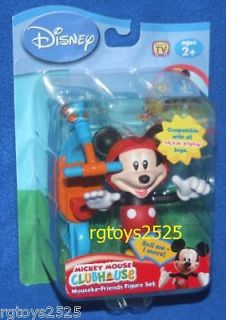Disney Mickey Mouse Clubhouse Mickey Mouska Figure New Talkin Bobbin
