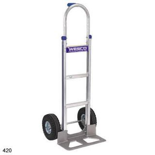 pin handle hand truck air tire NEW two wheel dolly