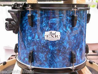 EXR EXPORT SERIES 14 BLUE PRIZM SUSPENDED FLOOR TOM DRUM LOT# K442