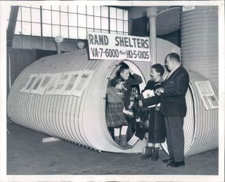 1962 Fallout Shelter at the Chicago Sports, Boat and Vacation Show