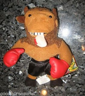 Meanie Beanie Babies Infamous Series MIKE TYSON BISON