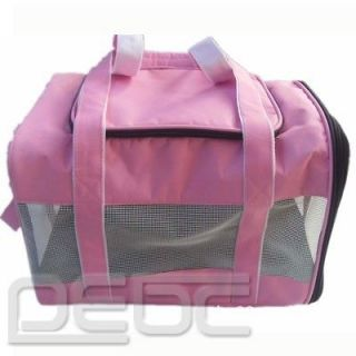 Pet Carrier Dog Cat Tote Mesh Travel Carry portable Bag Handbag oxford